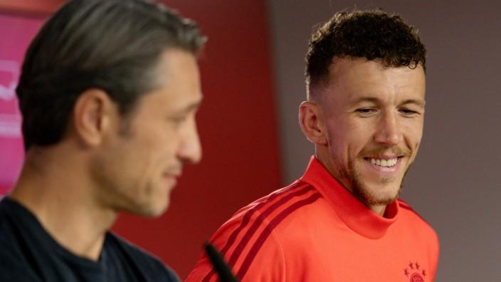 Bayern Munich unveil Ivan Perisic