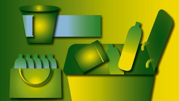 Nachhaltigkeit Einkauf, Verpackung, Entsorgung