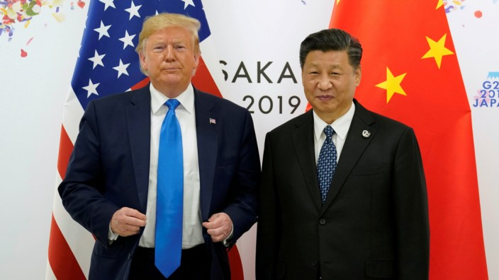 Trump Xi Jinping Osaka