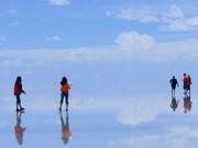 Salzsee Bolivien Uyuni, Fraunberger