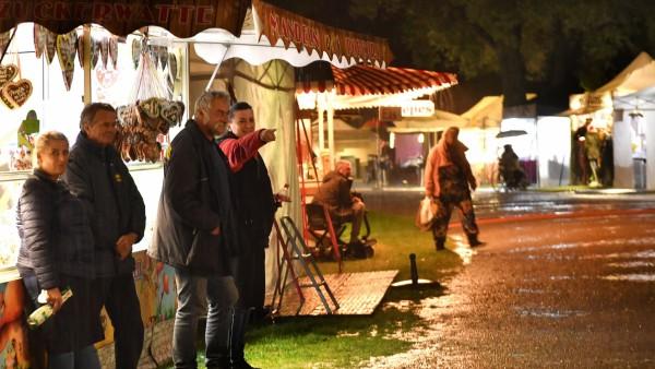 Herrsching, Seepromenade Nachtmarkt