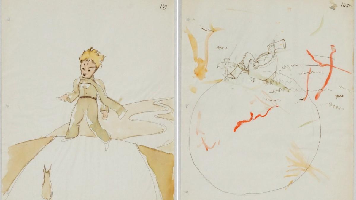 """""""Der kleine Prinz""""-Skizzen aufgetaucht"""