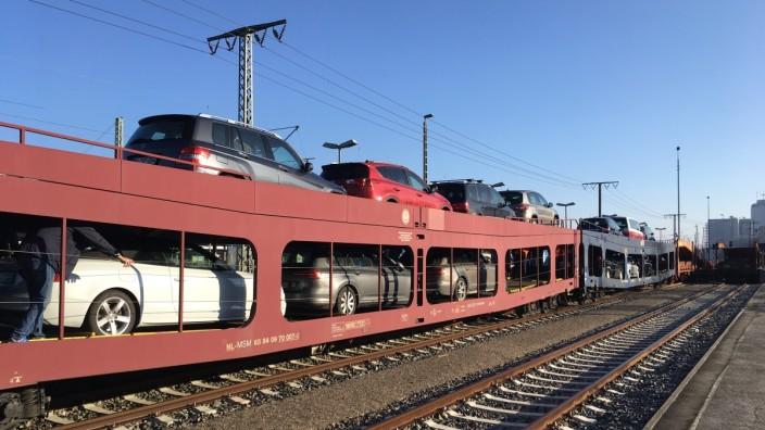 2 Stammstrecke In München Verladestation Soll Weichen