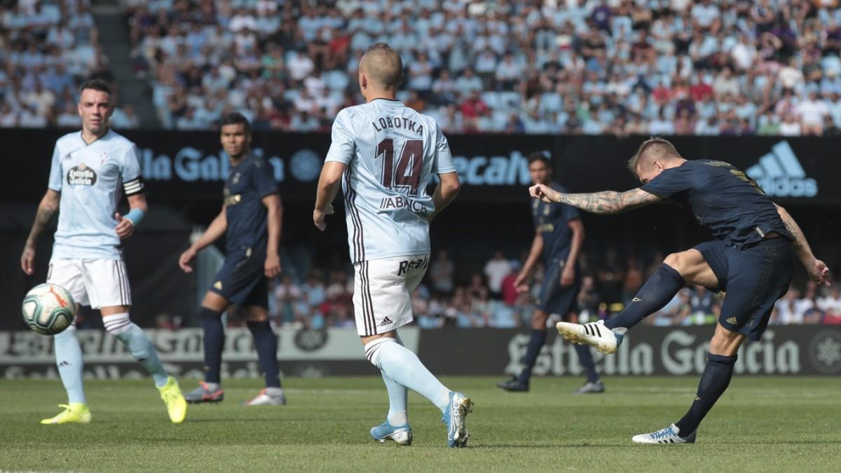 Toni Kroos zirkelt Real zum Sieg