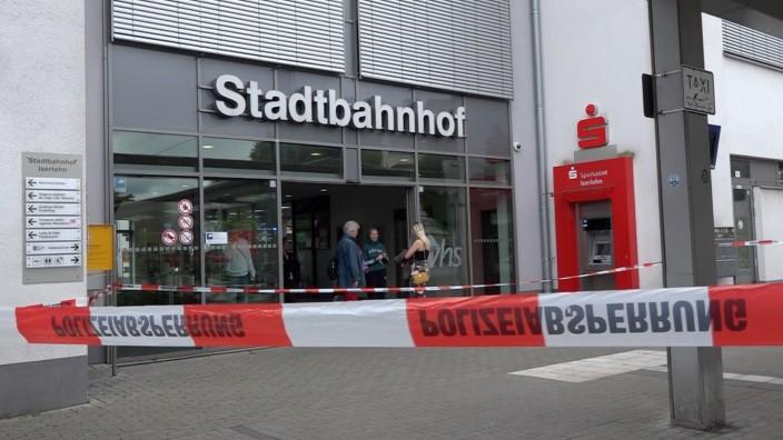 Messerangriff am Bahnhof von Iserlohn