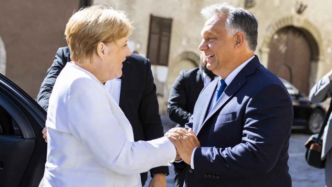 """Merkel: """"Deutschland wird dies Ungarn nicht vergessen"""""""