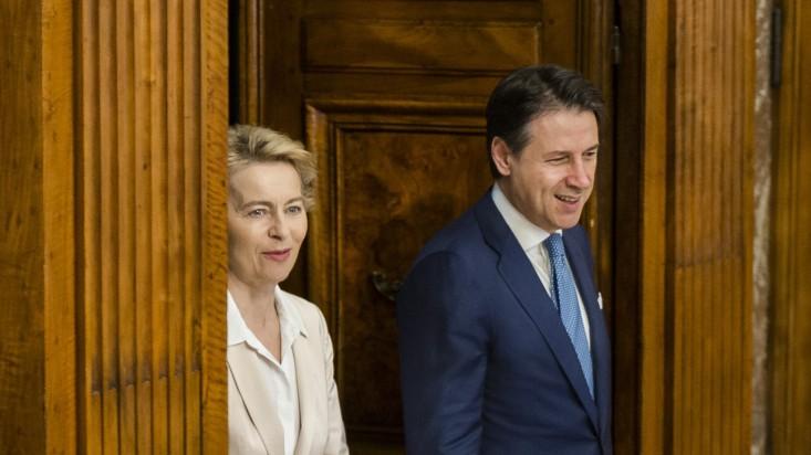 """Rom erwägt die """"Regierung Ursula"""""""