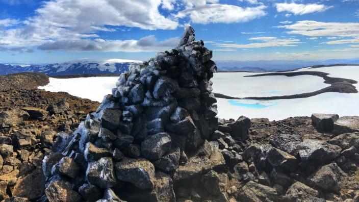 Okjökull auf Island