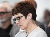 Deutschland Bonn 15 08 2018 Annegret Kramp Karrenbauer CDU Bundesvorsitzende und Bundesministerin
