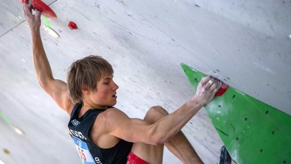 Deutscher Kletterer Megos löst bei WM Ticket für Olympia