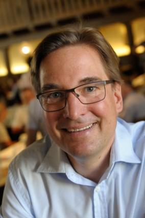Bürgermeister-Kandidat Jörg Hoffmann in München, 2019