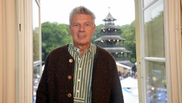 Dieter Reiter beim Kocherlball am Chinesischen Turm in München, 2019