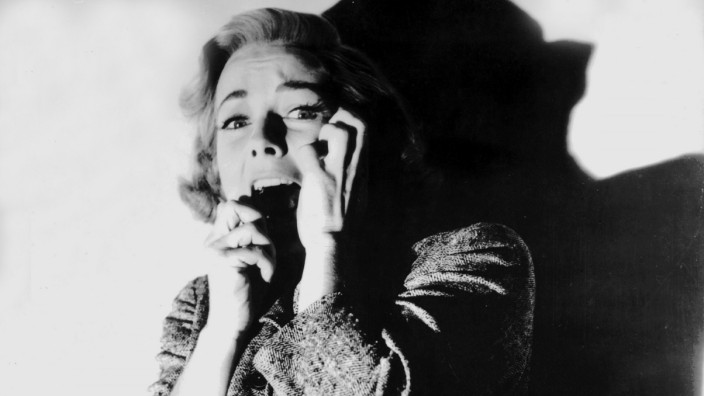 "Vera Miles in \""Psycho\"", 1960"