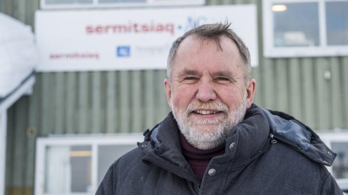 Poul Krarup, Chefredakteur der grönländischen Wochenzeitung Sermitsiaq.