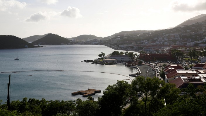 A general view of Charlotte Amalie