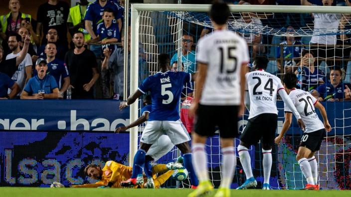 Racing Club de Strasbourg v Eintracht Frankfurt - UEFA Europa League Playoffs