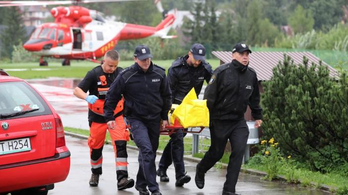Tödliches Unwetter in Polen