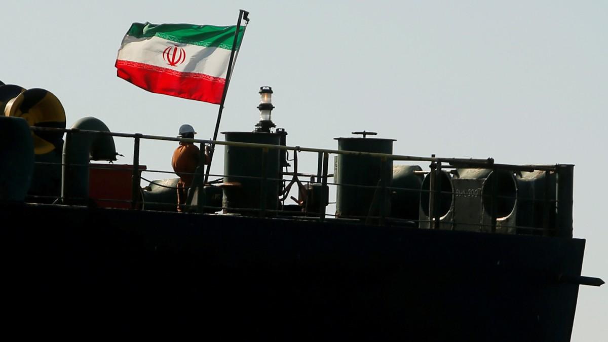 Öltanker kommt
