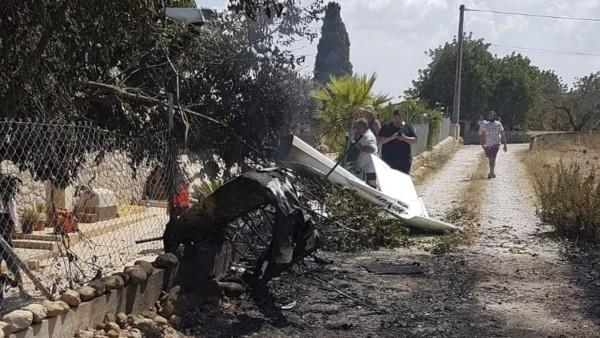 Hubschrauber Absturz auf Mallorca