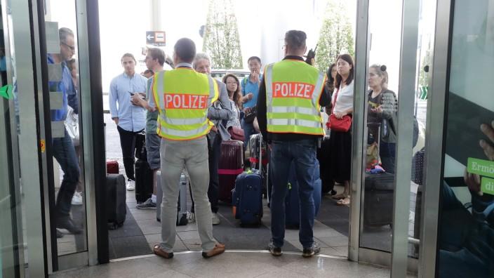 Flughafen München Sperrung Nach Zwischenfall München