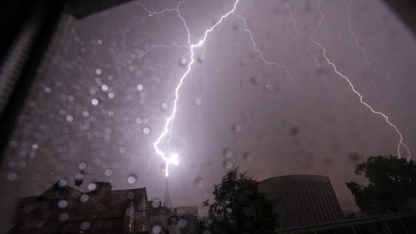 Blitzeinschlag in Münster