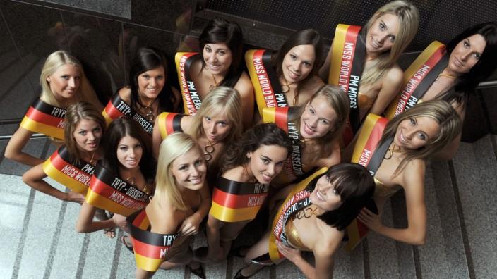 Kandidatinnen zur Miss World Deutschland Wahl 2009