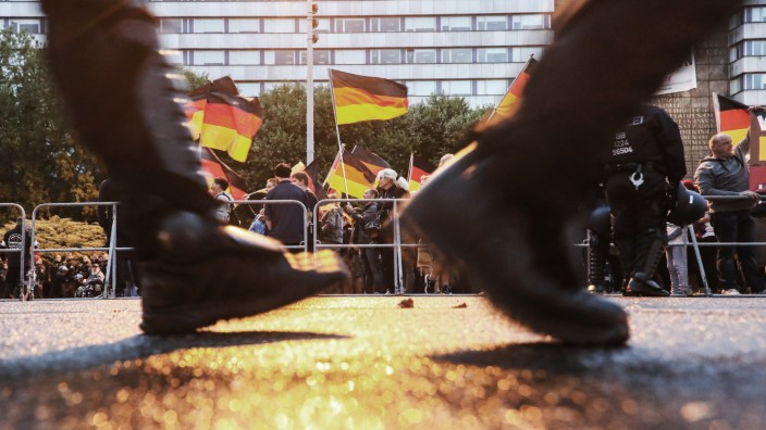 Rechtsextreme Thüringer für Demos nach Chemnitz