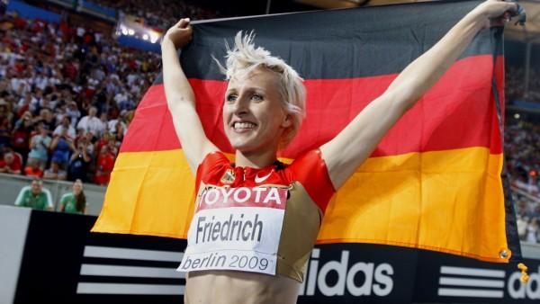 Nach zehn Jahren: WM-Silber für Hochspringer Friedrich bei ISTAF