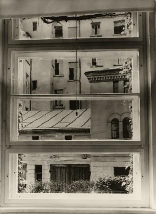 Blick aus meinem Atelierfenster, 1929