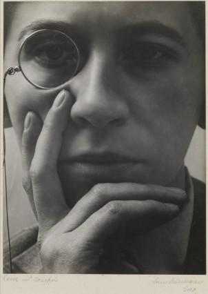 Dame mit Monokel, 1928/29