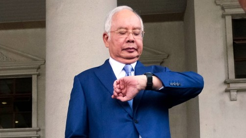 Malaysia's Najib Razak in Court for His Biggest 1MDB Trial as Goldman Watches