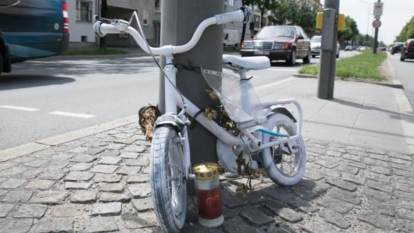 Ghost Bike in München, 2018