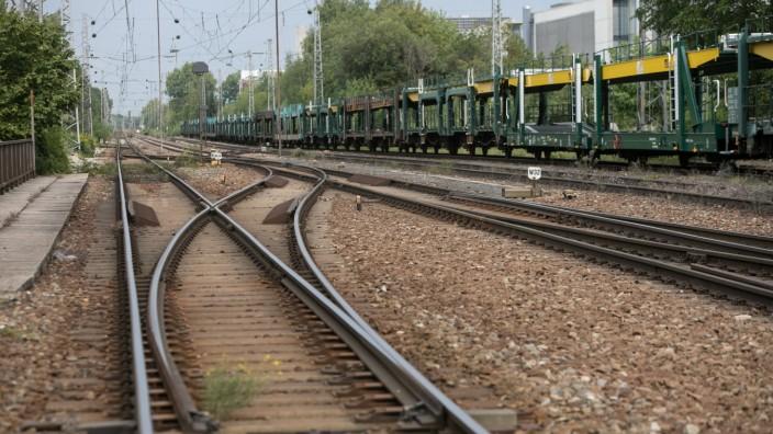 Eisenbahn Nordring in München, 2018