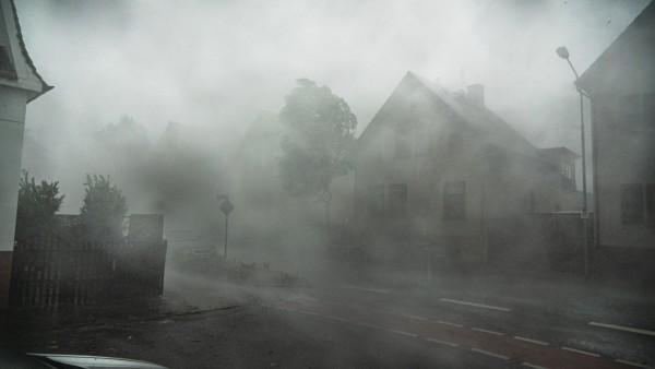 Unwetter in Langen