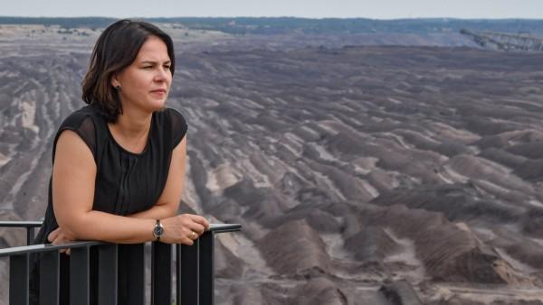 Annalena Baerbock Wahlkampftermine der Brandenburger Grünen vor der Landtagswahl