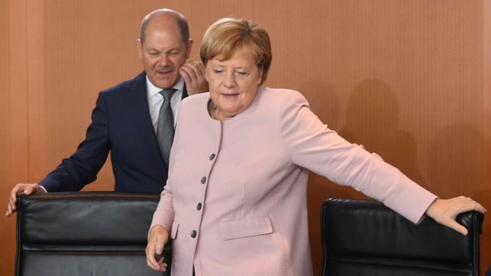 Weekly German cabinet meeting