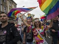 LGBT-Marsch für Gleichstellung in Polen