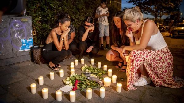 Mord pa Sergels väg i Ribbersborg i Malmö En nybliven mamma sköts till döds med sin baby i famnen p