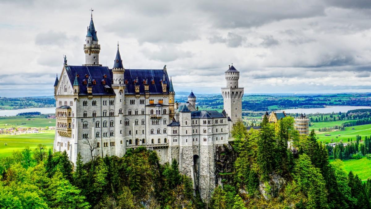 Schloss Neuschwanstein In Bayern Grundstein Gefunden