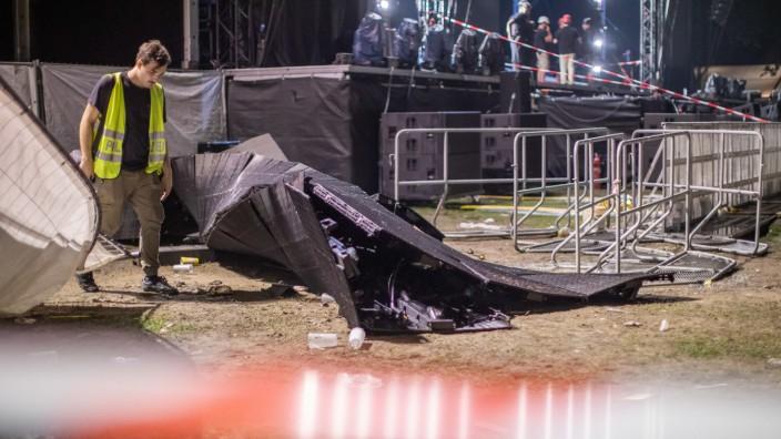 20 Verletzte bei Rap-Konzert in Essen