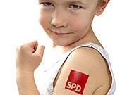 Europawahl Werbeartikel Parteien SPD CDU FDP Grüne Linkspartei