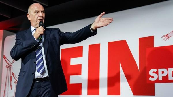 Landtagswahl Brandenburg - Wahlparty SPD