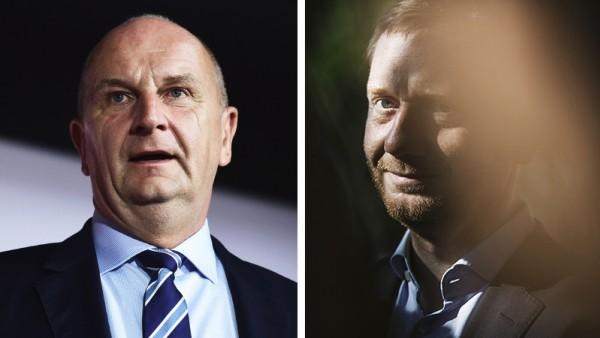 Dietmar Woidke (SPD) und Michael Kretschmer (CDU)