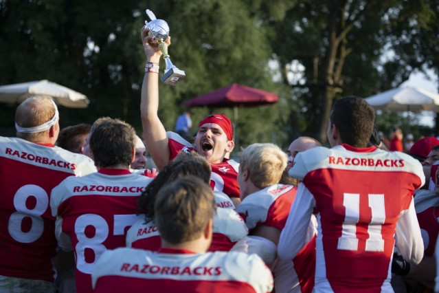 American Football Fursty Razorbacks Fürstenfeldbruck vs. Nürnberg Rams