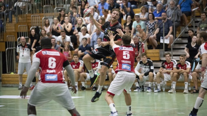 Handball, 3. Liga, 1. Heimspiel TuS FFB - TGS Pforzheim