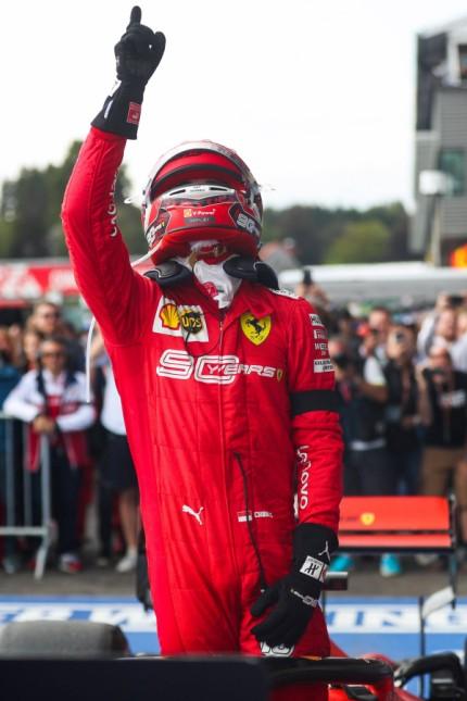 Sport Bilder des Tages 190902 SPA FRANCORCHAMPS Sept 2 2019 Charles Leclerc of Ferrari ce