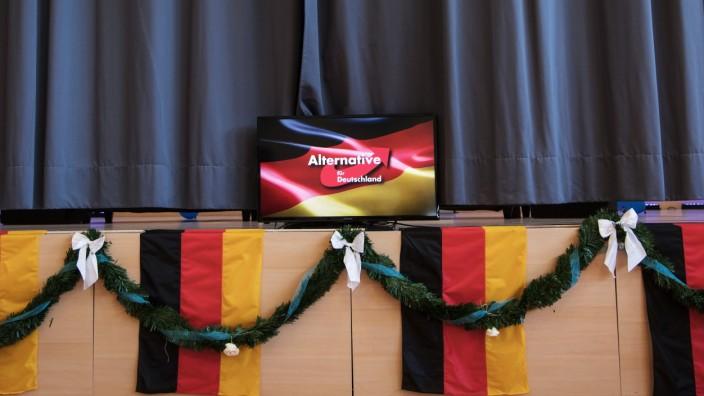 Wahlkampfauftakt AfD Hessen