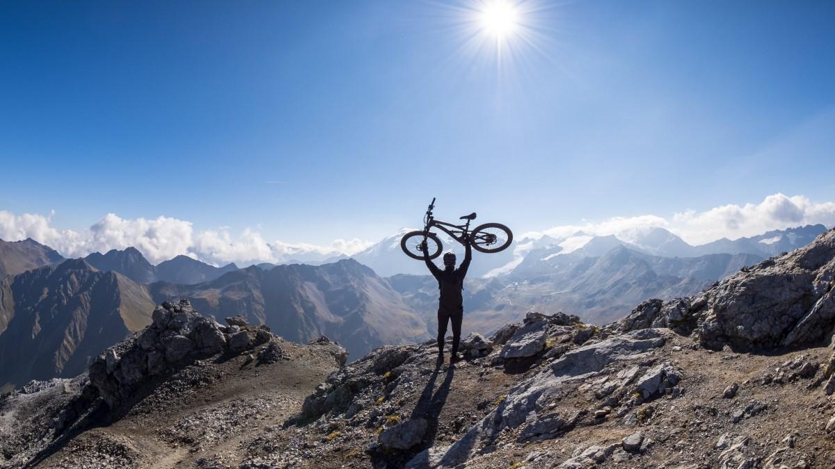 E-Bikes in den Alpen