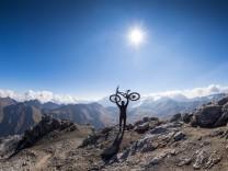 E-Bikes in den Bergen