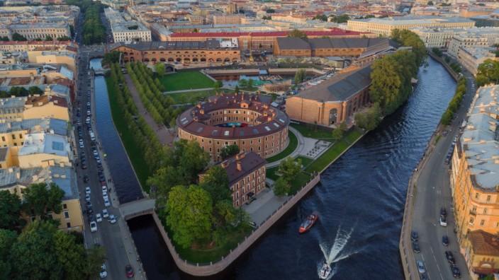 Sankt Petersburg Russland Insel Neu-Holland Städtereise